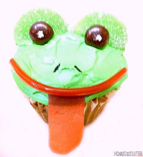 Adorable frog cupcakes - easy to make