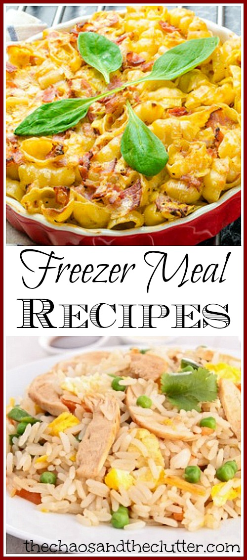 Stock up with these ready-to-cook freezer meal recipes and take the stress out of mealtime. You will love not having to wonder what to make for dinner!