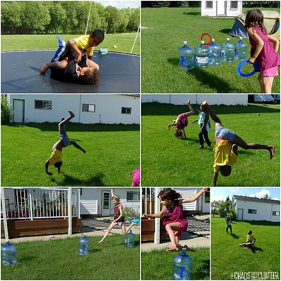 Backyard Olympic Events