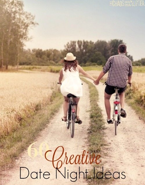 Creative Date Nights for couples. These are fun suggestions and most are inexpensive or free.