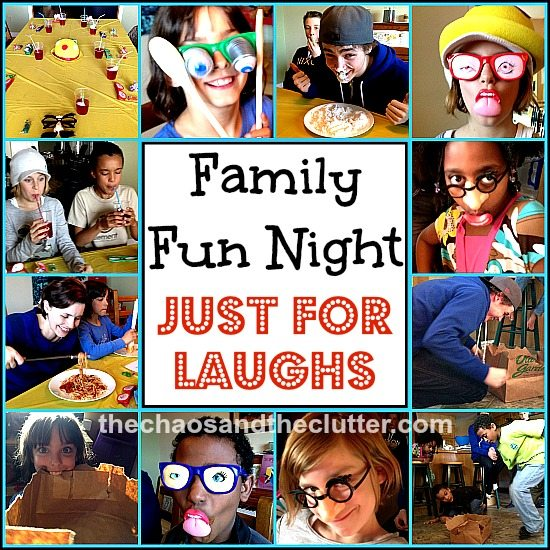 Family Fun Night for Laughs