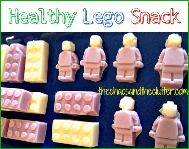 Awesome Lego Snack - healthy and so easy!