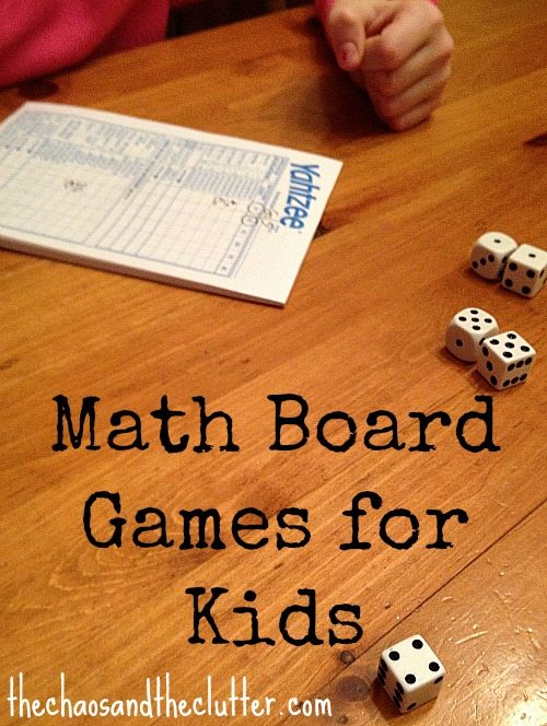 Math Board Games for Kids