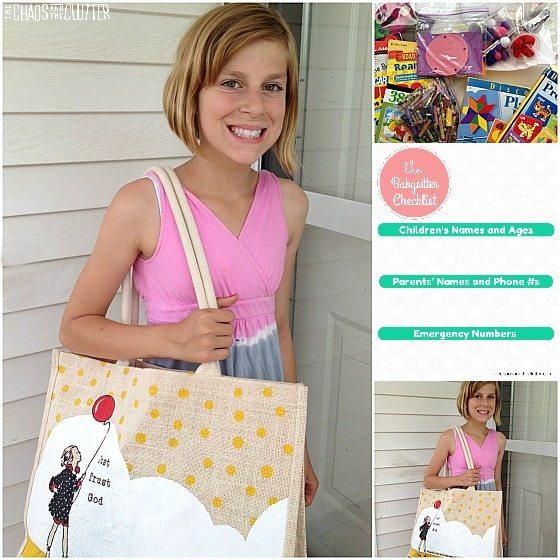 create your own babysitting kit