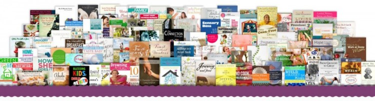 books in the homemaking bundle