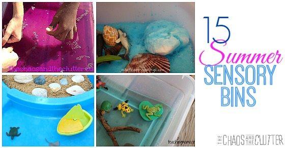 Summer Sensory Bin Ideas