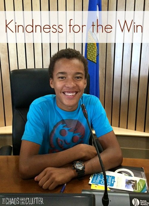 Kindness for the Win (a story of love overcoming hatred)