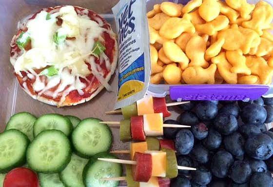 healthy and fun lunch for kids
