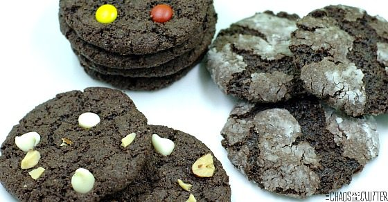 Make life easier. Make 3 types of gluten free cookies using one cake box. Gluten free baking doesn't have to be complicated!
