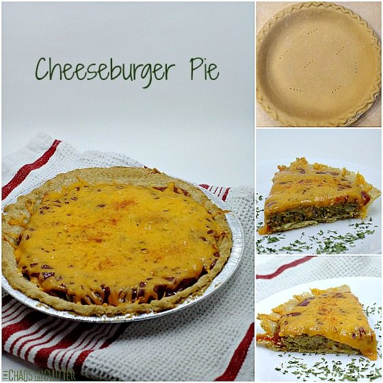 Cheeseburger pie is like the winter version of a delicious BBQ'd hamburger. Kids (and adults) love this recipe!