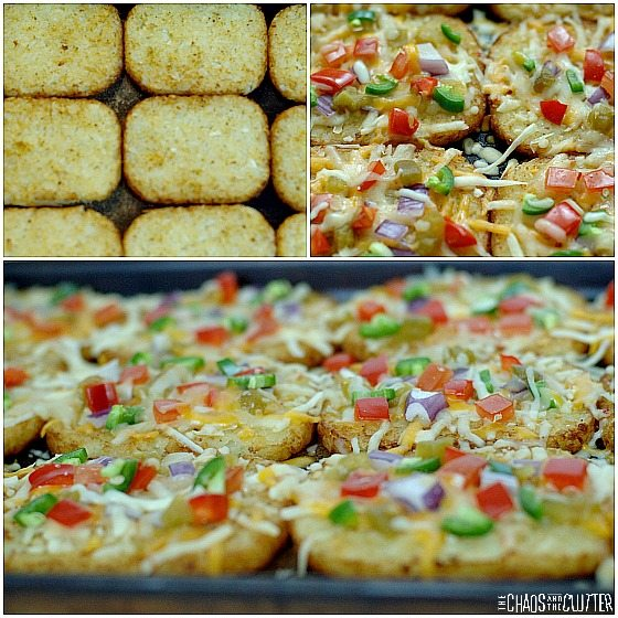 Hash Brown Breakfast Nachos - so delicious!