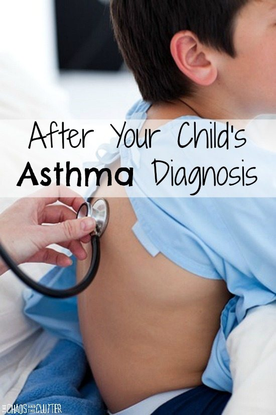 What to do after your child's asthma diagnosis