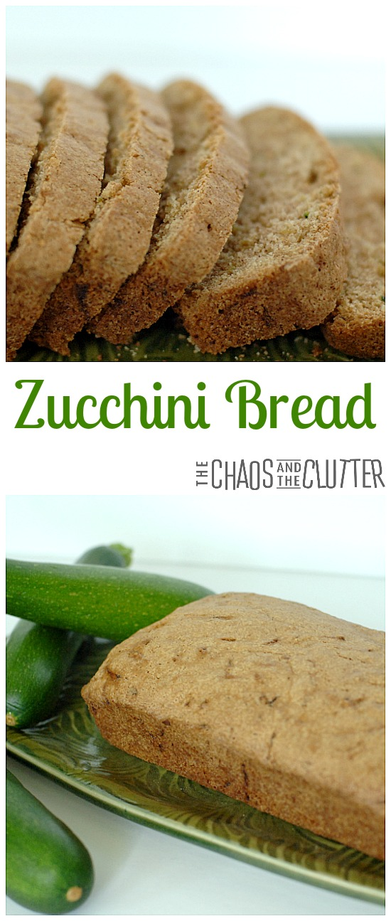 This zucchini bread has the perfect amount of zip and it freezes well so it can be pulled out for snacks or unexpected company.