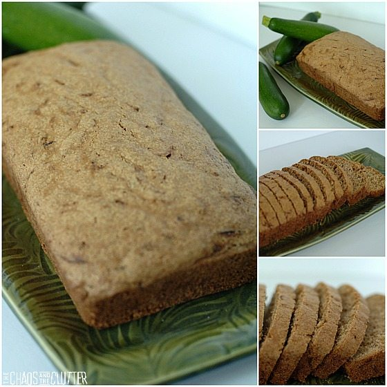Zucchini Bread square