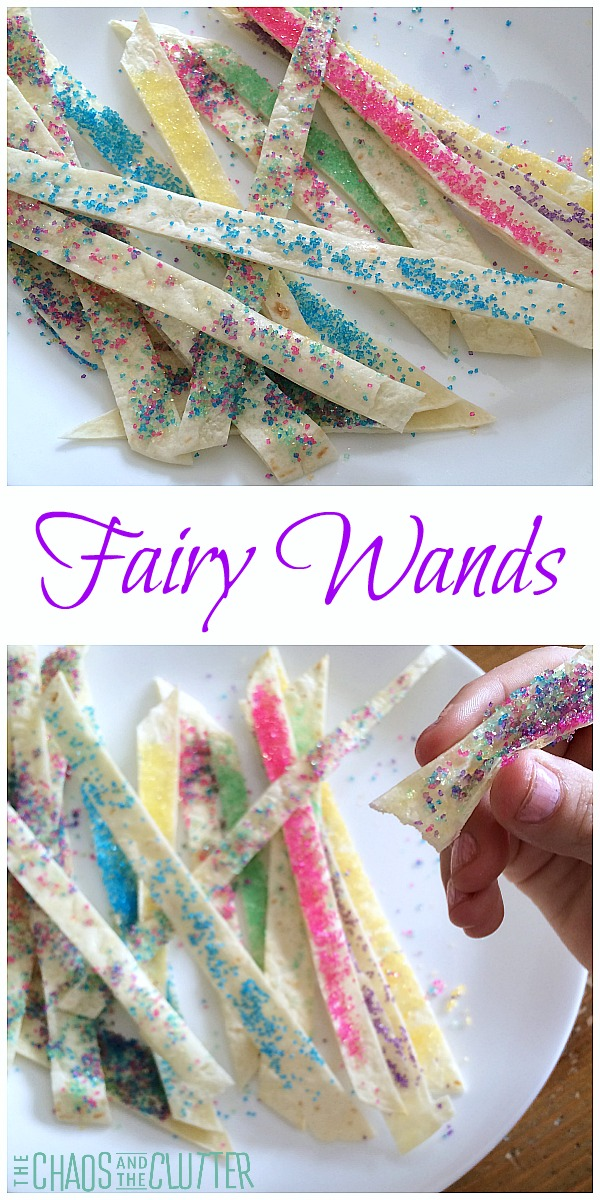 These edible fairy wands make such a cute snack for birthday parties, tea parties or just to add a bit of magic into an ordinary day.