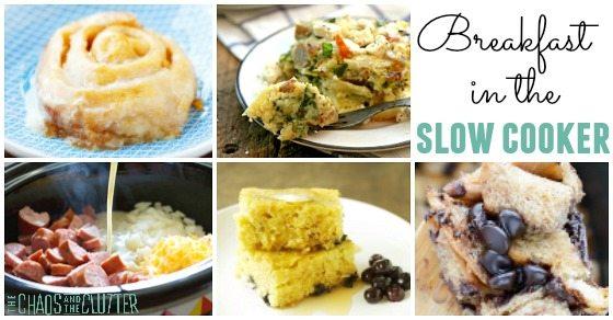 Breakfast in the Slow Cooker
