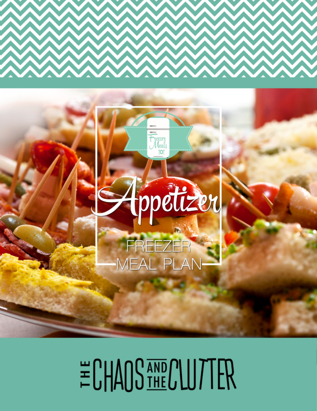 Appetizer Freezer Meals