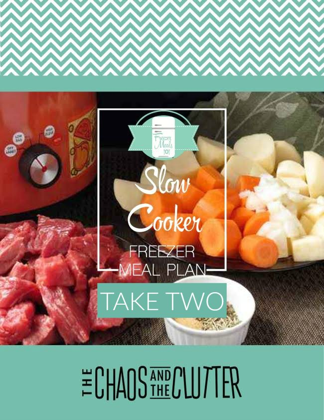 slow cooker freezer meal plan take two