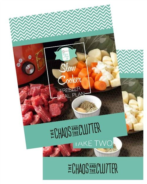 slow cooker meal plan bundle image