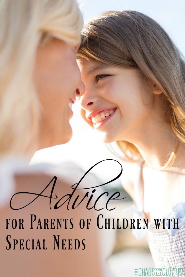 Real Advice for Parents of Children with Special Needs