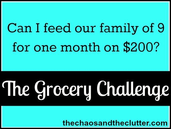 the Grocery Challenge