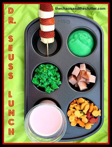 Dr. Seuss Lunch