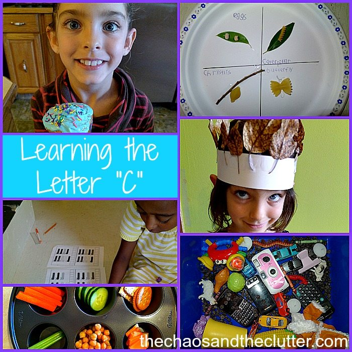 Activities for Learning the Letter C