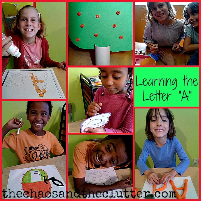 Learning the Letter A