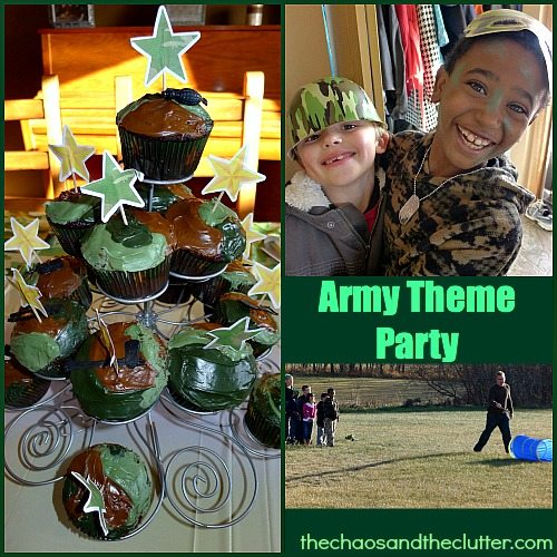 Army Theme Party