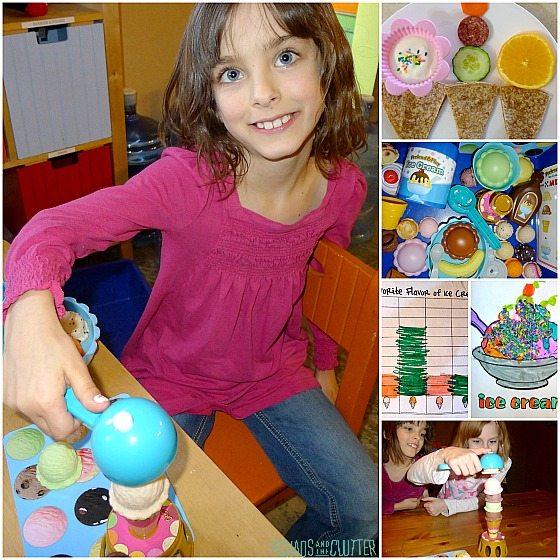 Ice Cream Theme square