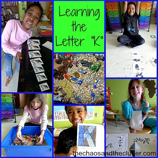 Learning the Letter K