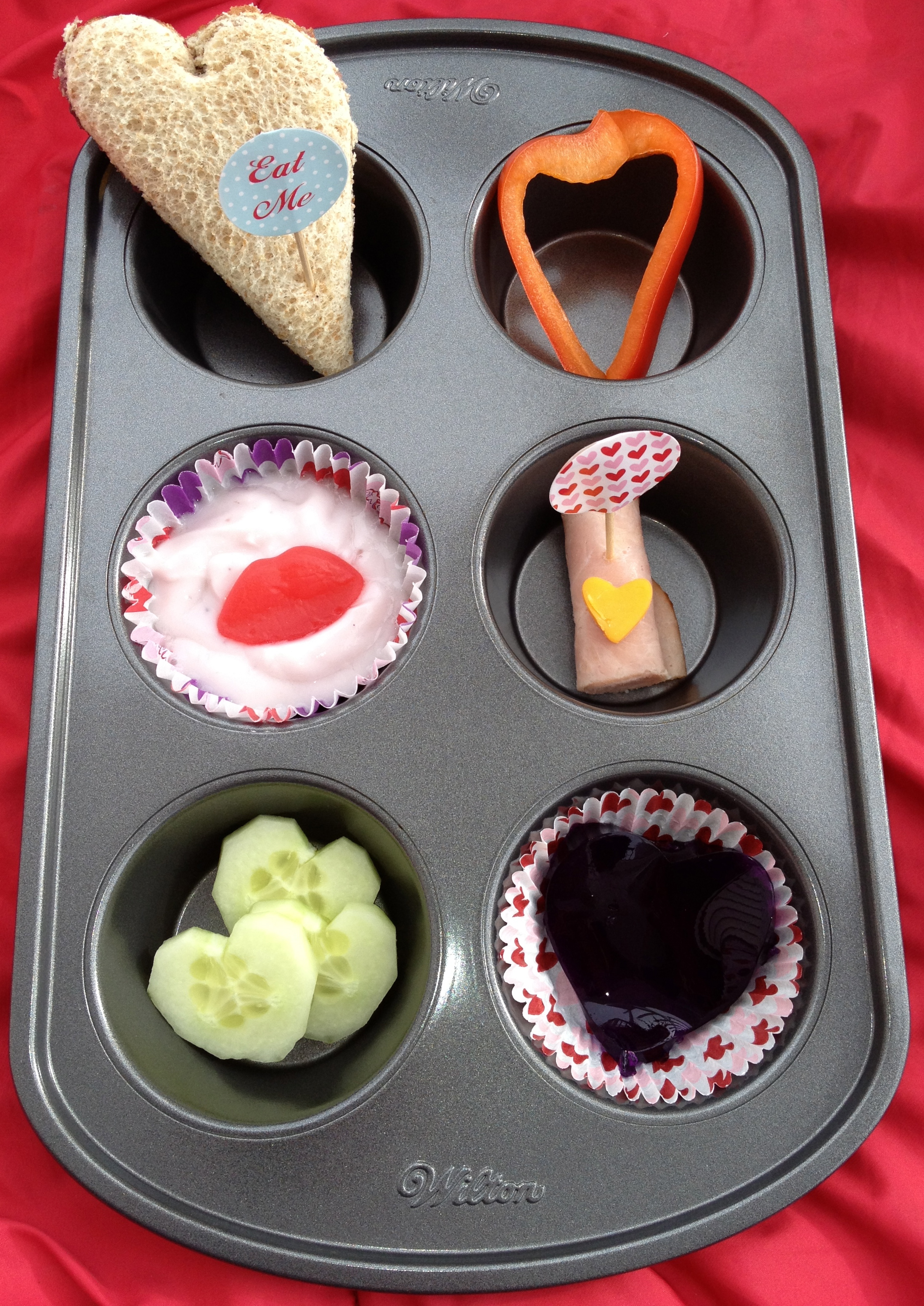Valentine's Muffin Tin Tray