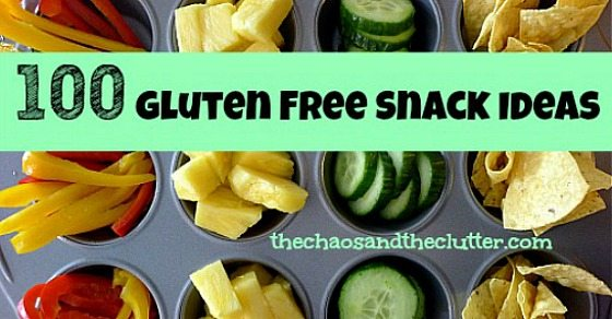 100 gluten free snack ideas