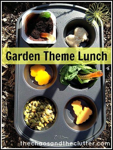 Garden Theme Lunch