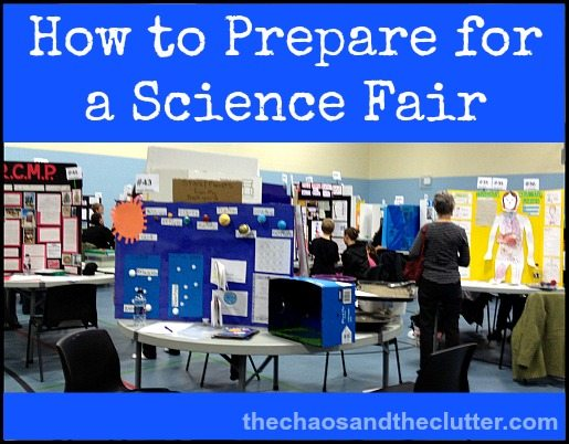 How to Prepare for a Science Fair