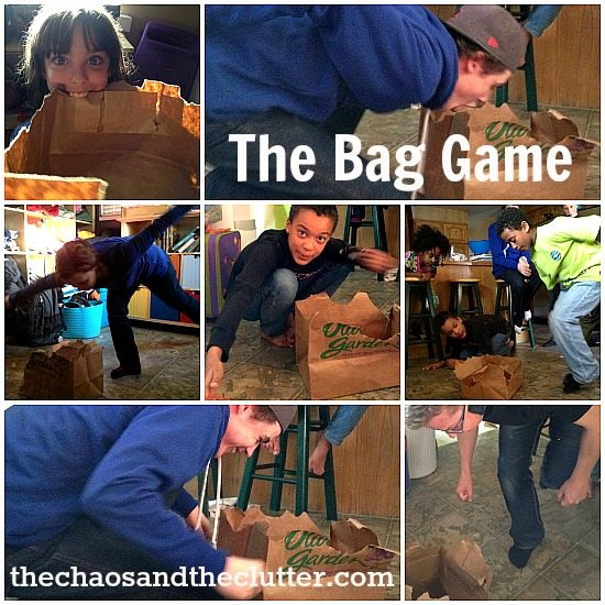 the bag game: minute to win it challenges