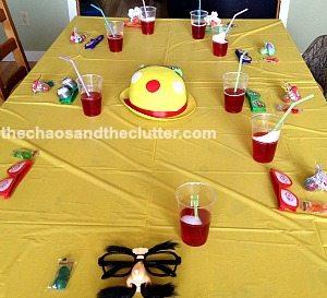 fun party table