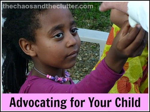 how to advocate for your child