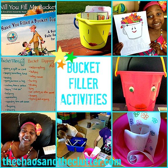 Activities for Have You Filled a Bucket