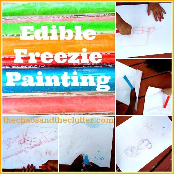 Freezie Painting