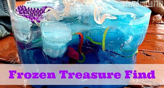 Frozen Treasure Find - keeps them busy for a LONG time!