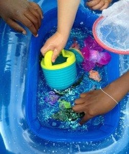 summer sensory exploration