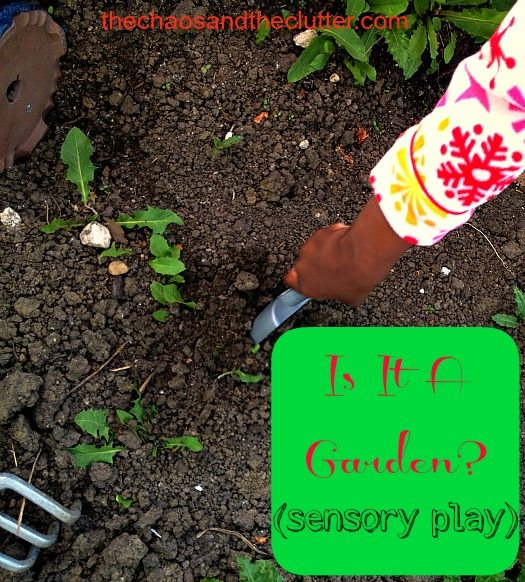 Is It a Garden? Sensory Play Activity