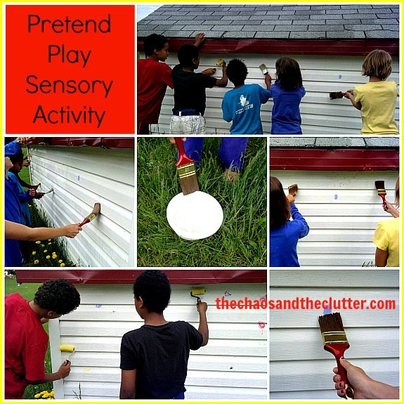 Pretend Play Sensory Activity