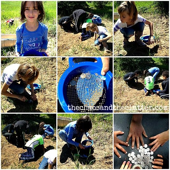 buried treasure discovery activity