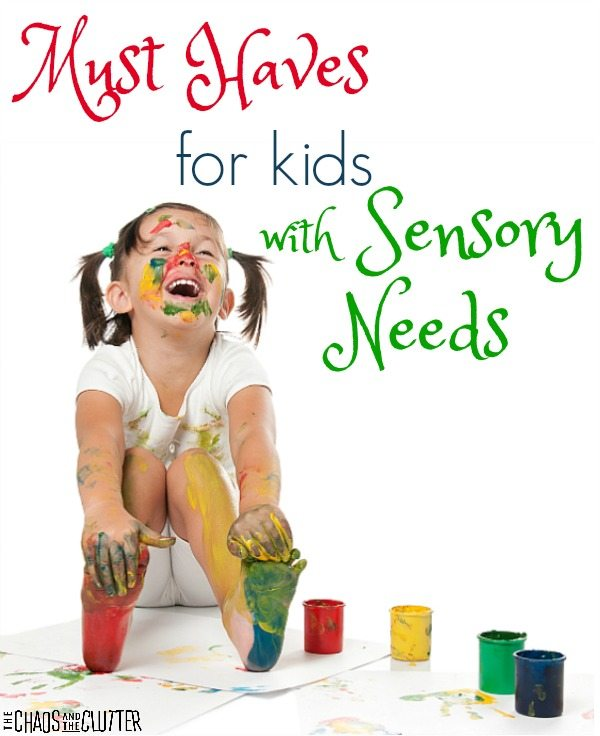 These are must-haves if you have kids with sensory processing disorder (SPD).