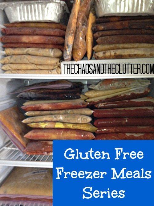 Gluten Free Freezer Meals Series