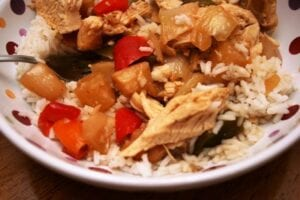 Hawaiian Chicken Crockpot Freezer Meal