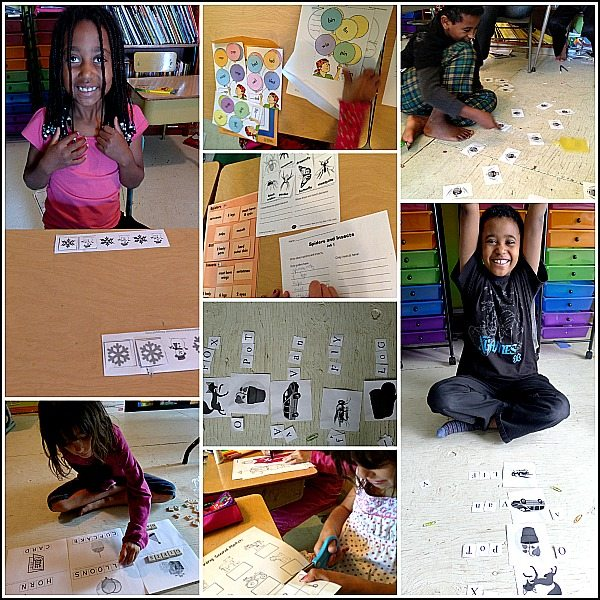 language arts workbox activities