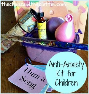 Create an Anti-Anxiety Kit for Your Child including free printable relaxation prompts